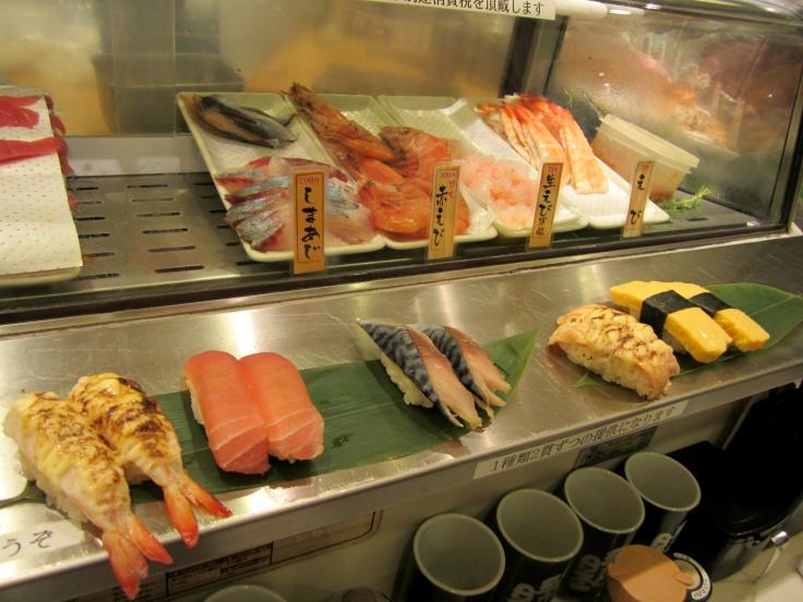 Standing sushi bar 5-